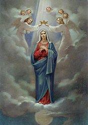Coroação de Nossa Senhora - Quinto Mistério Glorioso