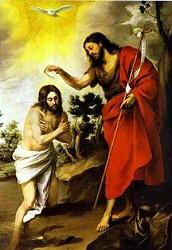 Batismo de Jesus - Primeiro Mistério Luminoso