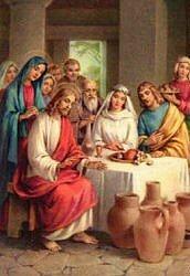 Milagre nas Bodas de Caná - Segundo Mistério Luminoso