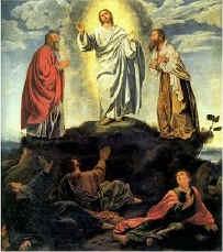 Transfiguração de Jesus - Terceiro Mistério Luminoso
