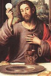 Instituição da Eucaristia - Quinto Mistério Luminoso